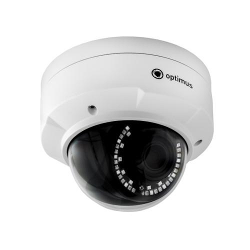 Купольная IP Камера видеонаблюдения Optimus IP-P045.0(2.8-12)E