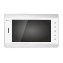 Видеодомофон Optimus VM-10.1 Серебристо-белый