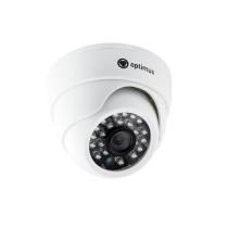 Купольная AHD Камера видеонаблюдения Optimus AHD-M021.0(2.8)E