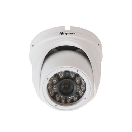 Купольная IP Камера видеонаблюдения Optimus IP-E042.1(3.6)