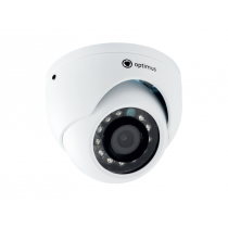 Купольная AHD Камера видеонаблюдения Optimus AHD-H025.0(3.6)_V.2