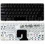 Клавиатура для ноутбука HP Pavilion DV2-1000 DV2-1100 DV2-1200 черная