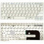 Клавиатура для ноутбука Samsung NC10 N110 N130 N140 белая