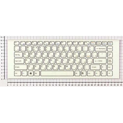 Клавиатура для ноутбука Sony Vaio VPC-EG VPC-EK белая