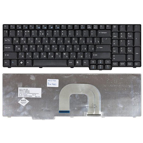 Клавиатура для ноутбука Acer Aspire 9800 9810 черная