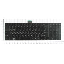 Клавиатура для ноутбука Toshiba C850 C870 C875 черная