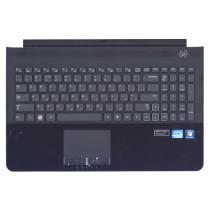 Клавиатура для ноутбука Samsung RC520 топ-панель черная
