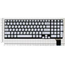 Клавиатура для ноутбука Sony VPC-SE VPCSE серебристая