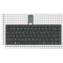 Клавиатура для ноутбука Asus UX Series черная без подсветки