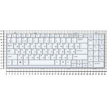 Клавиатура для ноутбука LG Xnote P510 белая