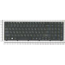Клавиатура для ноутбука Gateway E1 черная