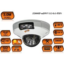 Купольная IP Камера видеонаблюдения J2000IP-mDWV113-Ir1-PDN