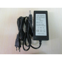 Блок питания для систем видеонаблюдения 12В 5А  J2000-PS12V5A:60W v.1
