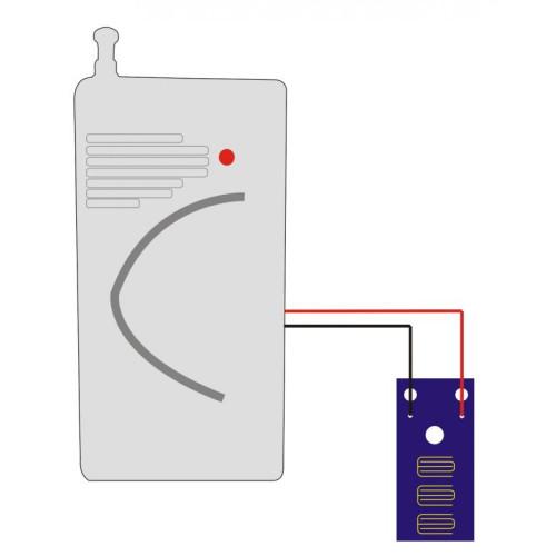 Датчик утечки воды беспроводной J2000-JH-WD