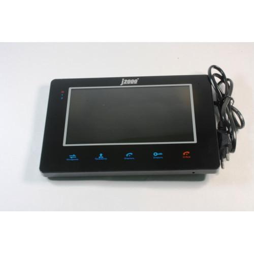 Видеодомофон J2000-DF-ВИКТОРИЯ (черный)