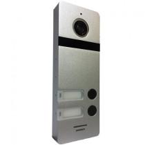 Вызывная панель домофона САТРО-DP-02-HD110-S (серебро панель 110гр 800твл)