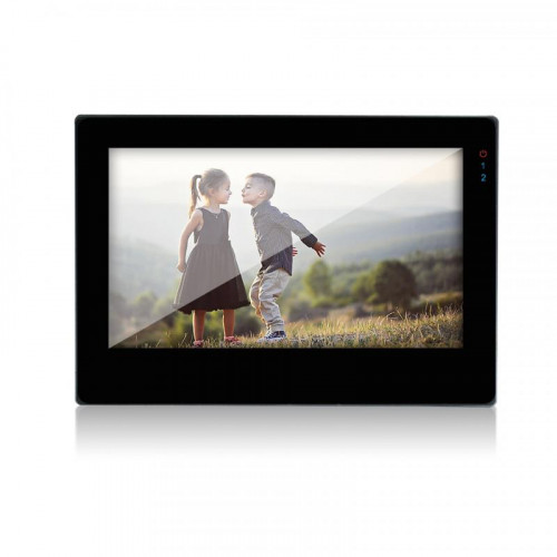 Видеодомофон J2000-DF-ВИОЛЕТТА AHD/PAL SD Touch (черный)