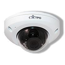 Купольная IP Камера видеонаблюдения САТРО-VC-NDV22F (2.8)
