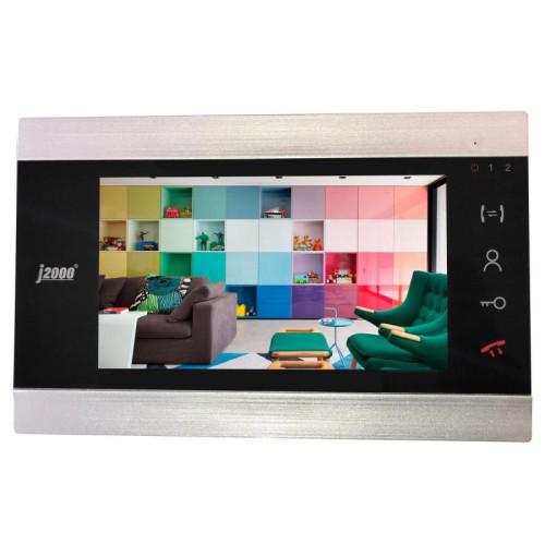 Видеодомофон J2000-DF-ВАРВАРА AHD 2.0 черный