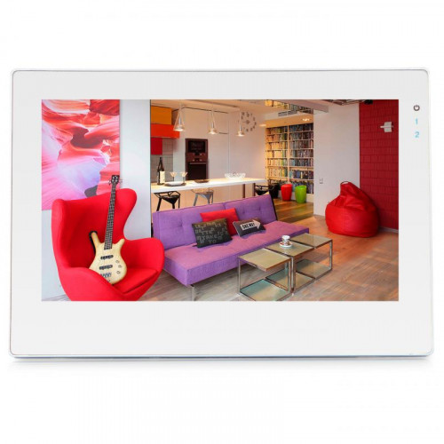 Видеодомофон J2000-DF-ВИОЛЕТТА AHD 2.0 VIZIT Touch (белый)
