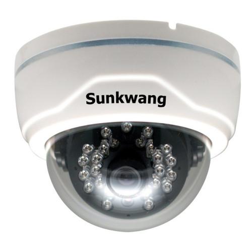 Купольная AHD Камера видеонаблюдения Sunkwang SK-DC80IR/M847AIP (2.8-12)