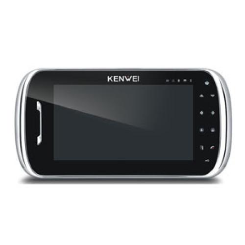Видеодомофон Kenwei KW-S704C-W200 черный