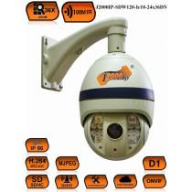 Поворотная PTZ IP Камера видеонаблюдения J2000IP-SDW120-Ir10-24x36DN