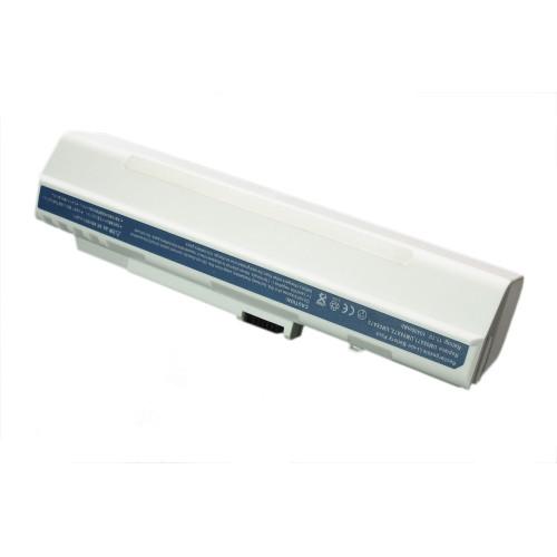 Аккумулятор для Acer Aspire One ZG-5 D150 A110 531h 11.1V 10400mAh REPLACEMENT белая