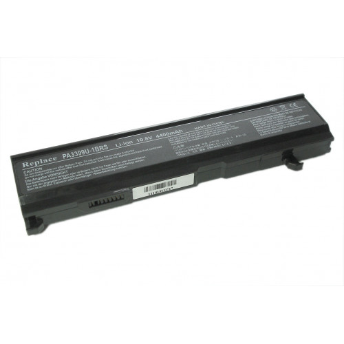 Аккумулятор для Toshiba A100, A105, M45 (PA3399U) 5200mAh REPLACEMENT черная