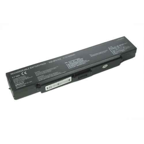 Аккумулятор для Sony Vaio VGN-CR, AR, NR (VGP-BPS9) 4400-5200mAh REPLACEMENT черная