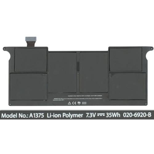 Аккумулятор для Apple MacBook Air A1375 35Wh
