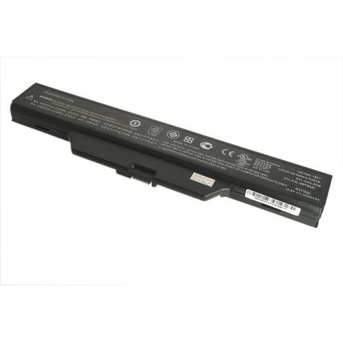 Аккумулятор для HP Compaq 550, 610 (HSTNN-IB62) 10,8V 4400-5200mAh REPLACEMENT черная