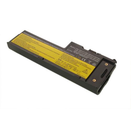 Аккумулятор для Lenovo ThinkPad X60s, X61s (42T5247) 2600mAh REPLACEMENT черная