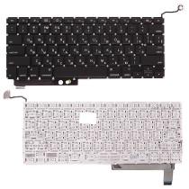 Клавиатура для ноутбука MacBook A1286 с SD плоский ENTER