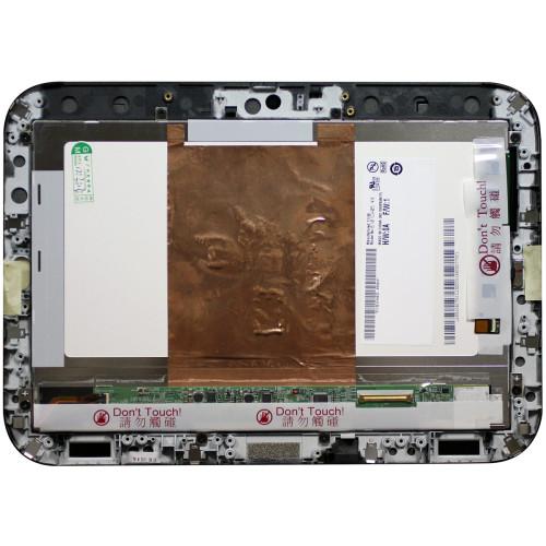 Модуль (матрица + тачскрин) для Lenovo IdeaPad K1 черный с рамкой