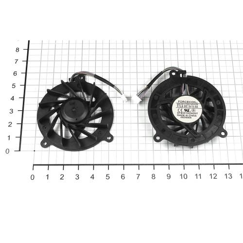Вентилятор (кулер) для ноутбука Asus A6 A8 F3 F8 F80 M51 (4 Pin, короткий провод)    4600001