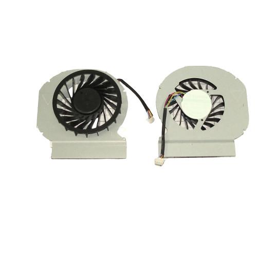 Вентилятор (кулер) для ноутбука Dell E6420 (дискретная видеокарта)