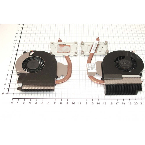 Система охлаждения для ноутбука HP Compaq CQ43 для Intel Pentium processor (встроенная видеокарта)