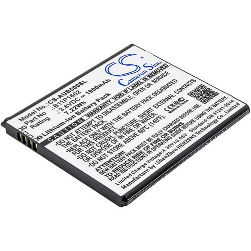 Аккумулятор CS-AUB500SL B11P1602 для Asus ZenFone Go 5.0  3.8V / 1900mAh / 7.22Wh