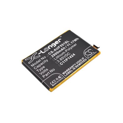 Аккумулятор CS-AUF551SL C11P1424 для ASUS ZenFone 2 (ZE551ML)  3.85V / 2900mAh, / 11.17Wh