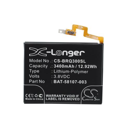 Аккумулятор CS-BRQ300SL BAT-58107-003 для BlackBerry Passport 3.8V / 3400mAh / 12.92Wh