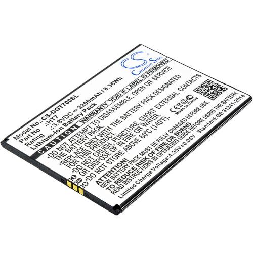 Аккумулятор CS-DGT700SL HT7 для Doogee Homtom HT7, T7, T7 Pro  3.8V / 2200mAh / 8.36Wh