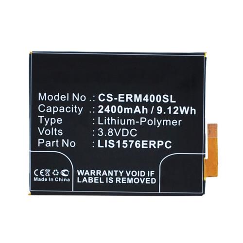 Аккумулятор CS-ERM400SL LIS1576ERPC для Sony Xperia M4 Aqua E2303 3.8V / 2400mAh / 9.12Wh