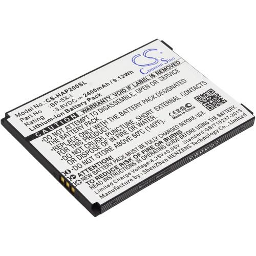 Аккумулятор CS-HAP200SL BP-5X-I для Highscreen Boost 2/Boost 2 SE  3.8V / 2400mAh / 9.12Wh