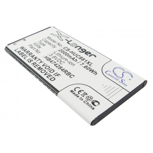 Аккумулятор CS-HUC881XL HB474284RBC для Huawei Ascend G620 3.8V / 2000mAh / 7.60Wh