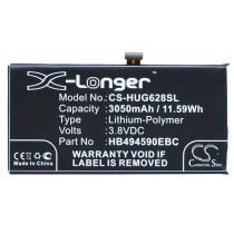 Аккумулятор CS-HUG628SL HB494590EBC для Huawei Honor 7  3.8V / 3050mAh / 11.59Wh
