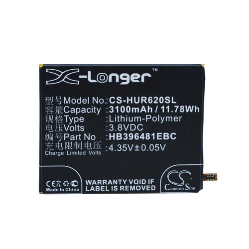 Аккумулятор CS-HUR620SL HB396481EBC для Huawei Ascend G7 Plus  3.8V / 3100mAh / 11.78Wh
