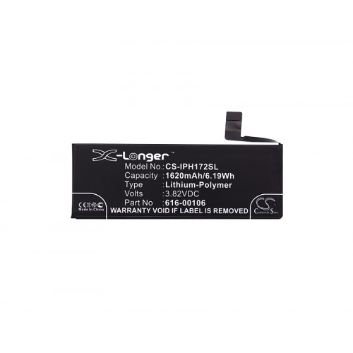Аккумулятор CS-IPH172SL для iPhone 5se 3.82V / 1620mAh / 6.19Wh
