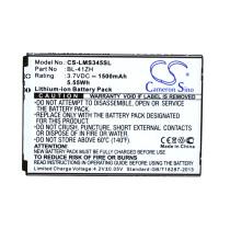 Аккумулятор CS-LMS345SL BL-41ZH для LG L Fino D295, LG X220DS 3.7V / 1500mAh / 5.55Wh