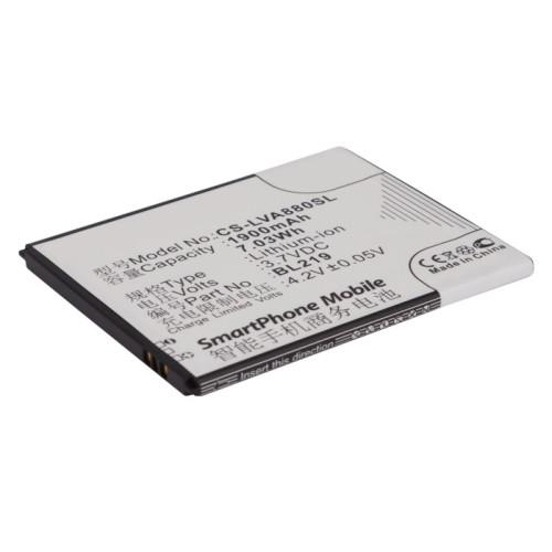 Аккумулятор CS-LVA880SL BL219 для Lenovo A916 3.7V / 1900mAh / 7.03Wh